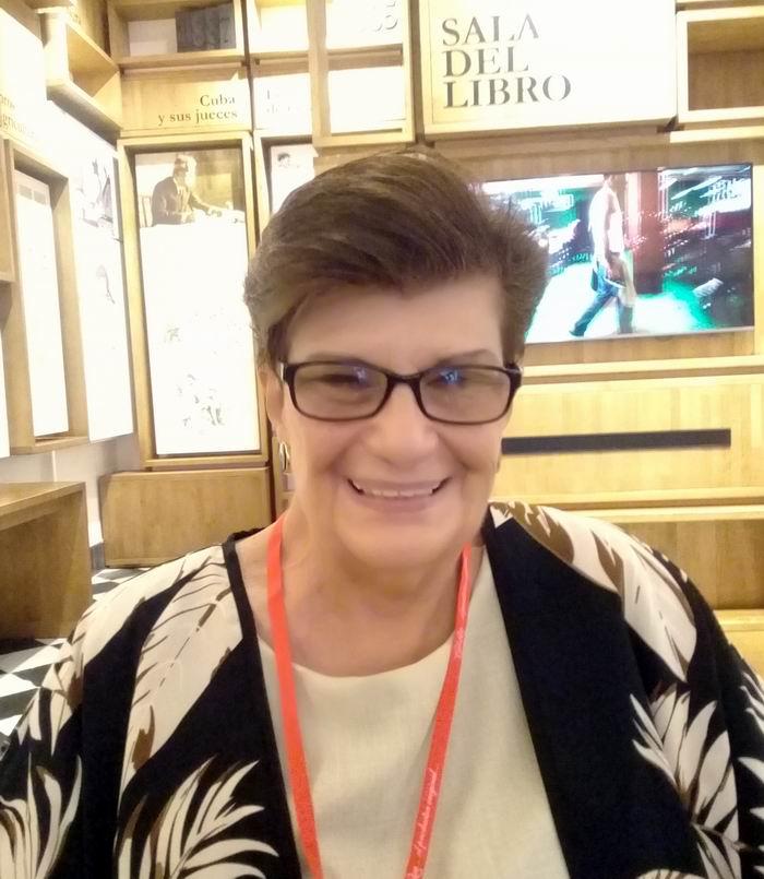 Investigadora titular de la Academia de Ciencias de Cuba, Alicia García Santana
