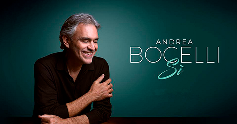 Italian tenor Andrea Bocelli to sing in Havana in December