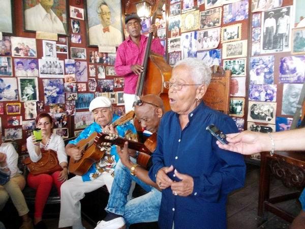 Falleció la más longeva de las trovadoras cubanas