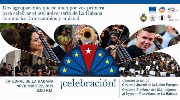 Actuará en Cuba Orquesta Juvenil de la Unión Europea