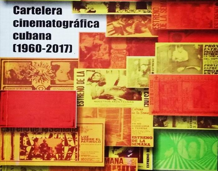 libro Cartelera Cinematográfica Cubana (1960-2017)