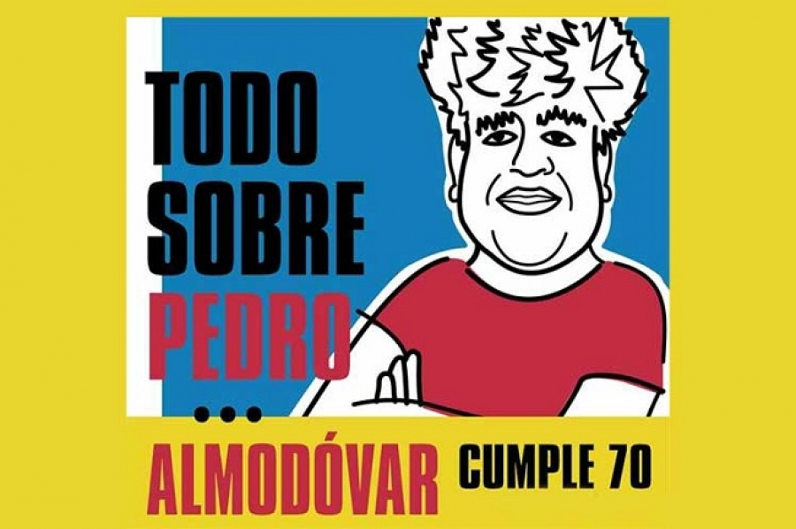 En San Sebastián carteles cubanos dedicados a Pedro Almodóvar