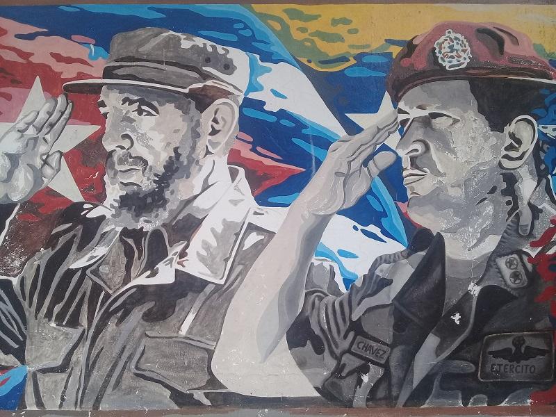 Recuerda el pueblo de Cuba a Hugo Chávez a siete años de su muerte