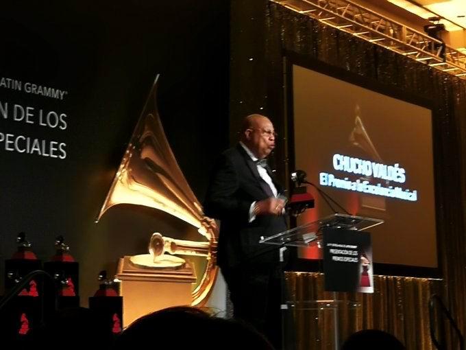 Chucho Valdés gana el Grammy Latino en la categoría de Mejor Álbum de Jazz