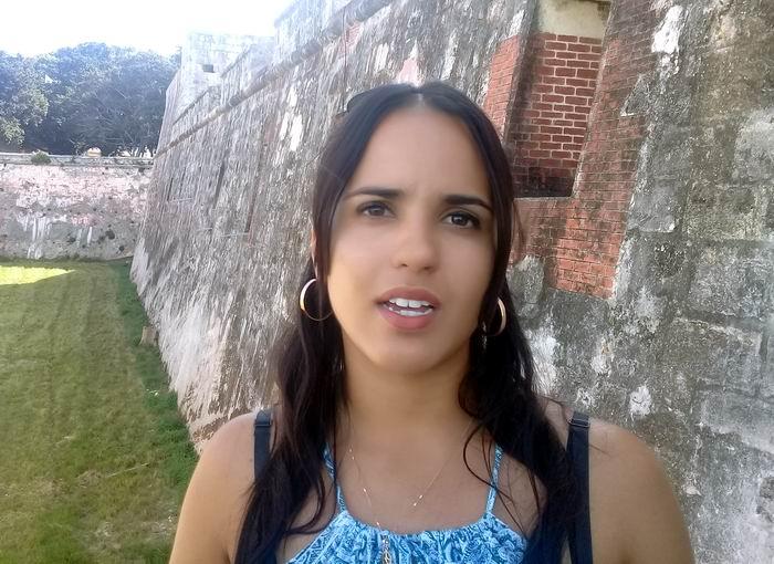 Museóloga del Parque Histórico-Militar Morro-Cabaña, Claudia Estrada Valiente