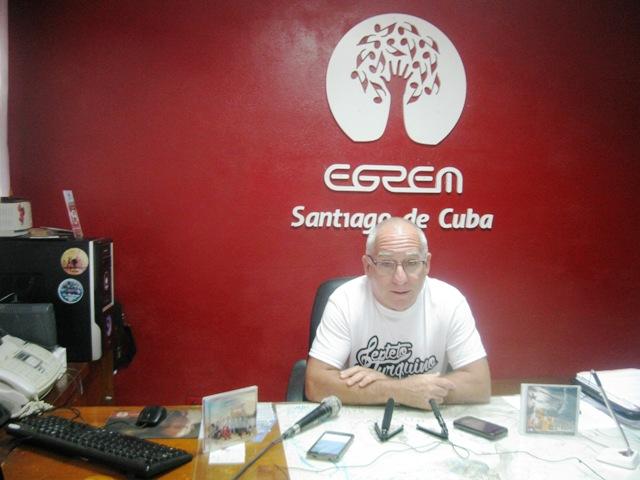 Director General de la EGREM en la Isla, Mario Escalona Serrano