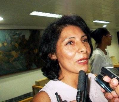 Alidson Celia Gómez Agostopa, Embajadora en funciones de Bolivia en la Isla