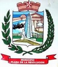 Escudo del municipio Plaza de la Revolución