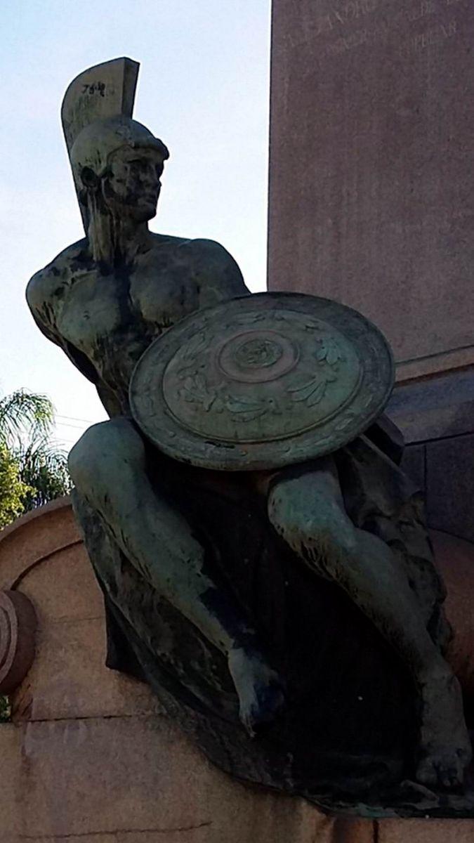 Escultura a Alejandro Rodríguez y Velasco (1852-1915) primer alcalde por elección que tuvo la ciudad de La Habana.
