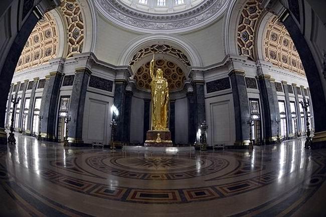 Restaurada la Estatua de la República de Cuba del Capitolio de La Habana