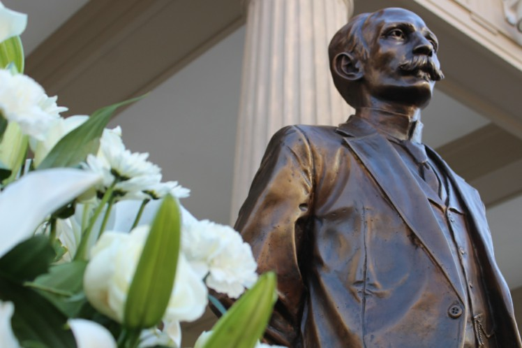 Statue of Jose Marti Unveiled at Cuban Embassy in US