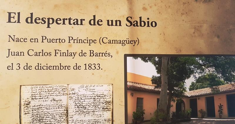 Llega a Camagüey donativo de la UNESCO sobre Carlos J. Finlay