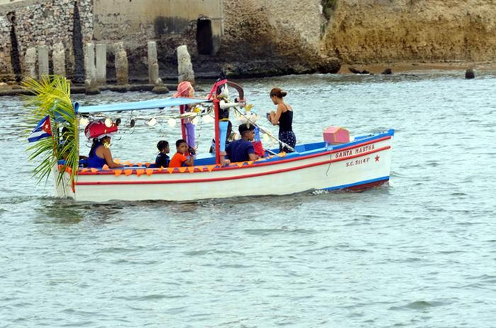 Carnaval Acuático en la bahía santiaguera