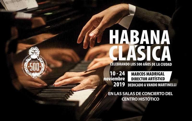 Celebrarán Festival Internacional de Música de Cámara Habana Clásica