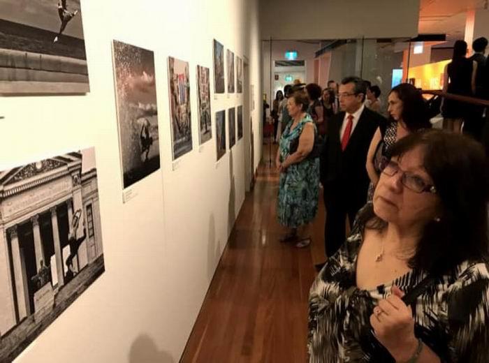 Celebró Australia medio milenio de La Habana con las fotografías de Gabriel Dávalos