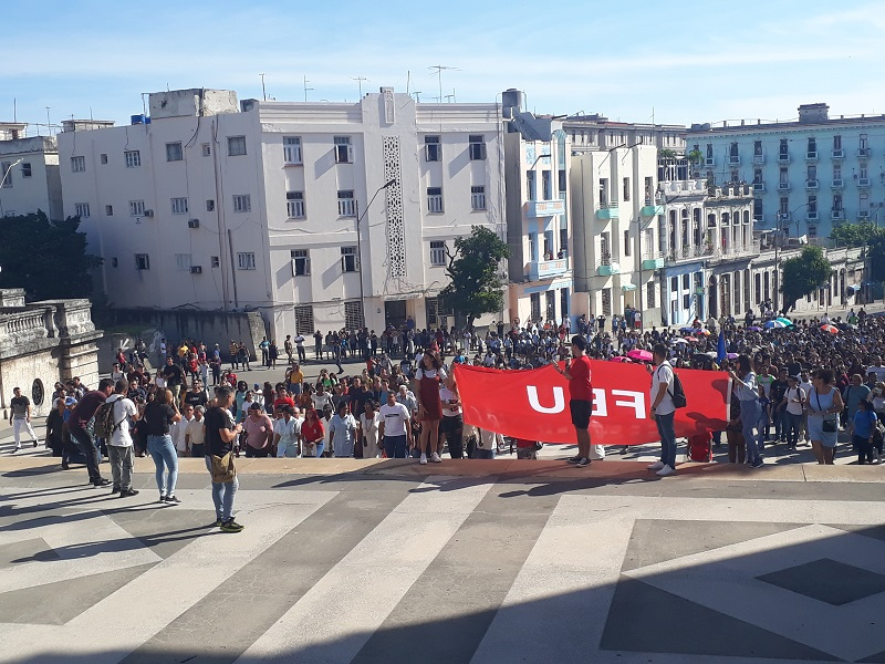 Inició curso escolar en Universidad de La Habana