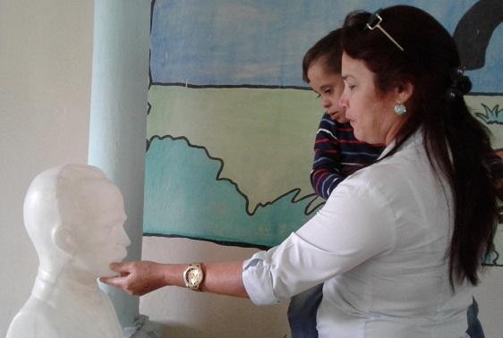 Los grandes retos del año de la maestra especial Marbelis Aguilera