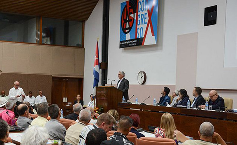 Díaz-Canel: Intellectuals and Artists Will Always Accompany the Revolution