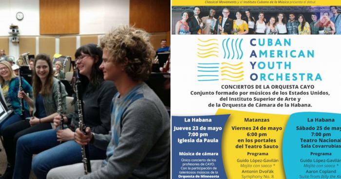 Orquesta Juvenil une a músicos de Cuba y Estados Unidos en La Habana