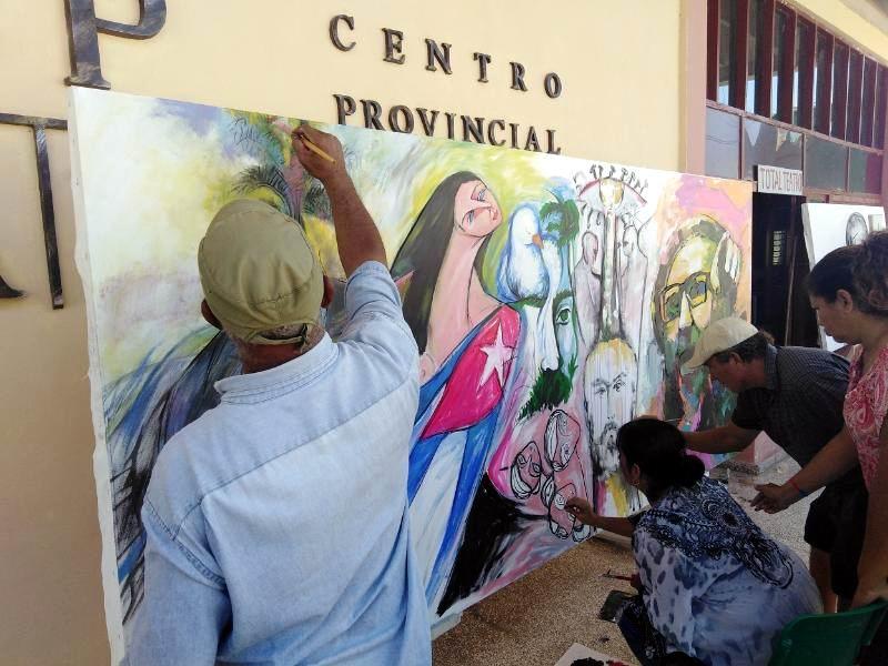 En Las Tunas, pintada por Fidel y el vuelo de Alicia Alonso (+Audio)