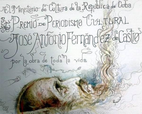Convocan a Premio de Periodismo Cultural José Antonio Fernández de Castro