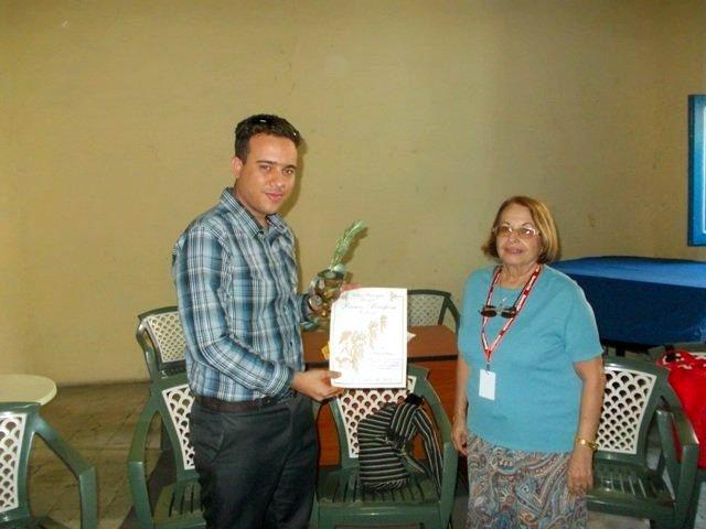 Premio Mariposa, extiende sus alas hasta Santiago de Cuba. Foto del autor