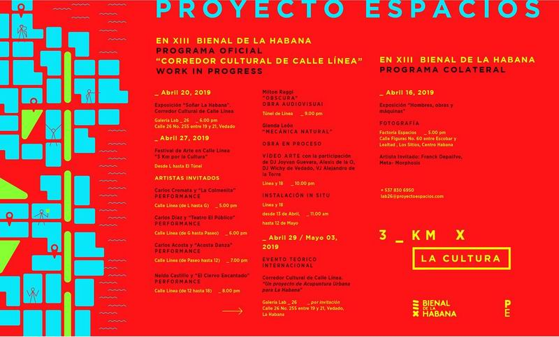 Propone Proyecto Espacio activar corredor de la Calle Línea