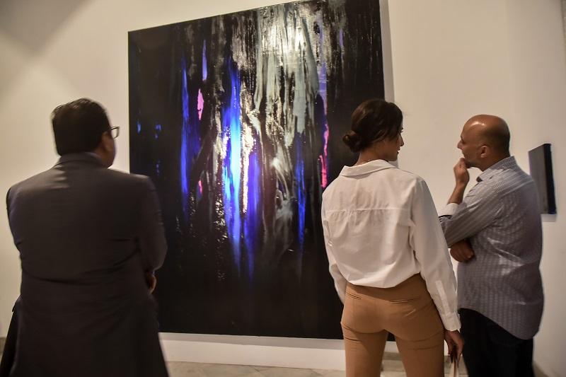 Rachel Valdes, sensory experiences translated into art