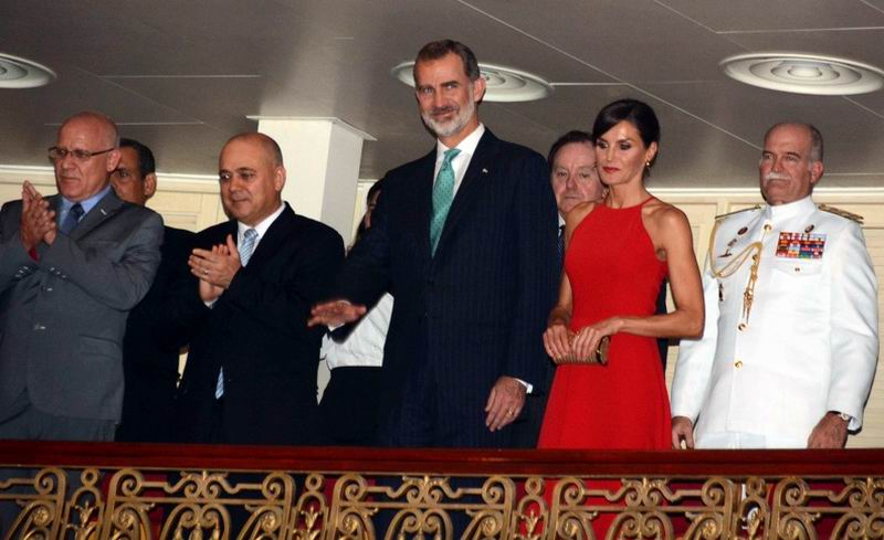 Spanish monarchs with an intense agenda in official visit to Havana