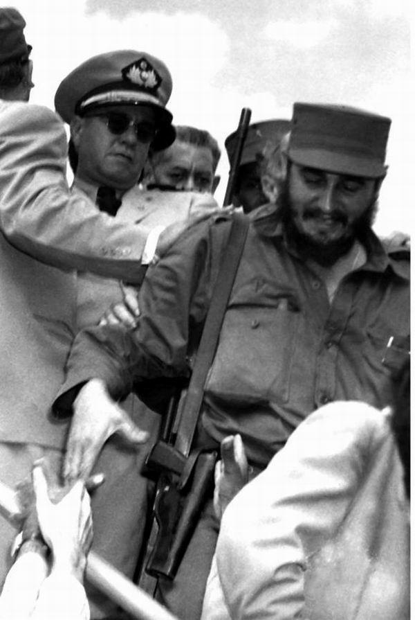 Fidel llega a Caracas el 23 de enero de 1959