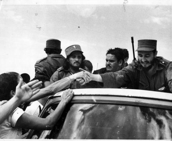 La primera visita de Fidel a Venezuela