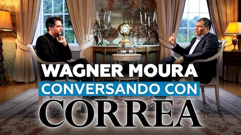 Wagner Moura a Correa: Lo primero que quiso hacer Bolsonaro fue destrozar el aparato artístico brasileño (+VIDEO)
