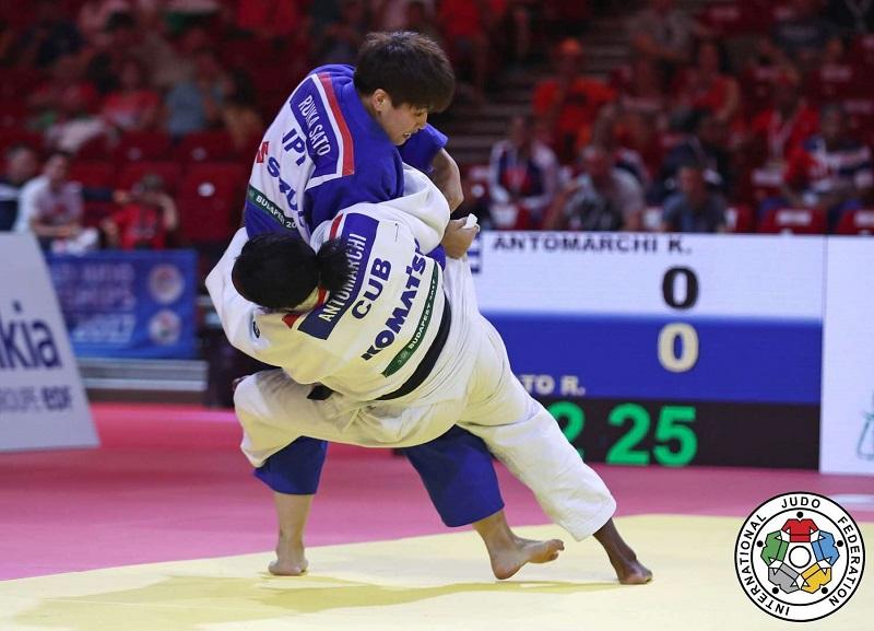 Antomarchi tampoco avanza en mundial de Judo