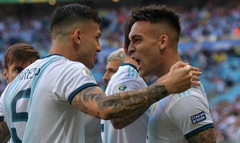 Con gol de Lautaro Martínez, Argentina vence 1-0 a Qatar y está clasificando a los cuartos de final de la Copa América 2019.