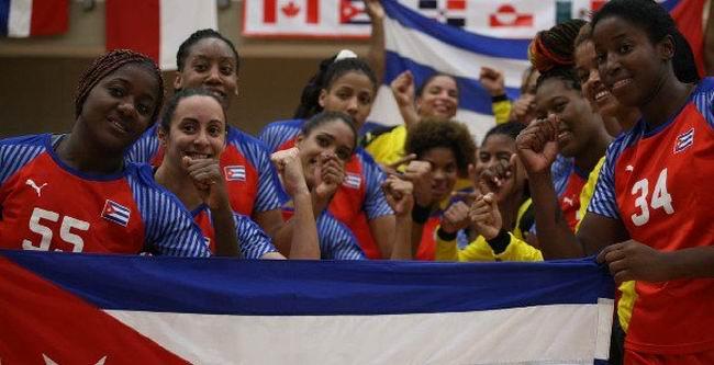 Balonmano femenino cubano otra vez a un Campeonato Mundial