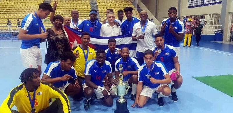 Balonmano masculino cubano a Mundial sub 24 de Tbilisi