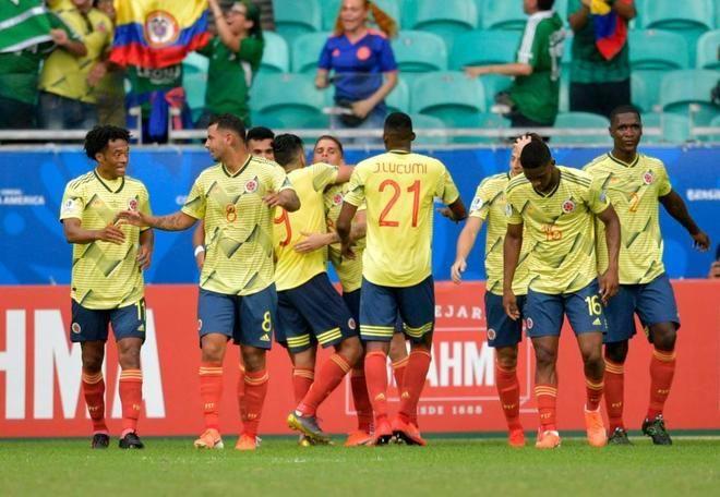 Colombia hace el pleno y le echa una mano a Argentina