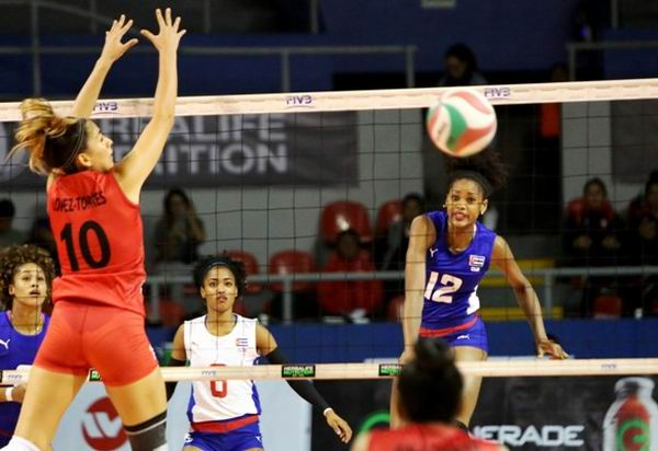 Cuba reaches semifinals in Women´s U20 Pan American Volleyball Cup