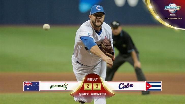 Cuba aún respira en el Premier 12 de béisbol