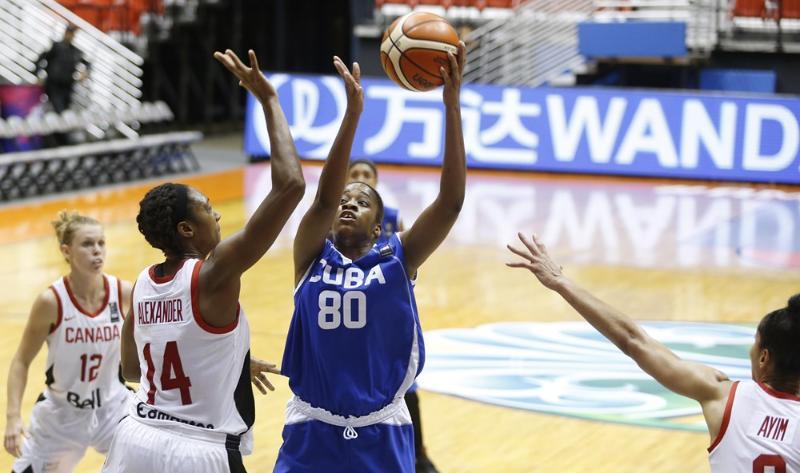 Cubanas por primera victoria en Copa América de baloncesto femenino