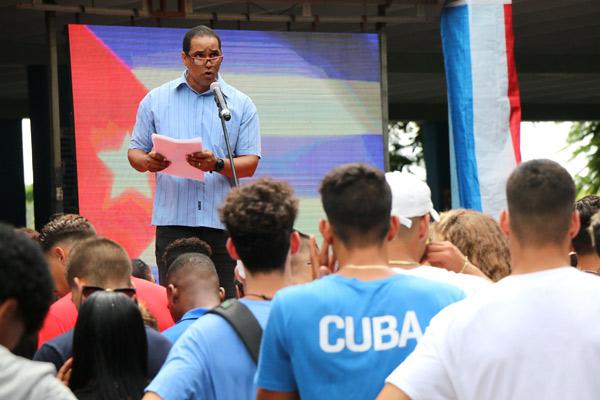 Atletas de la Cardín responden al llamado de Díaz-Canel