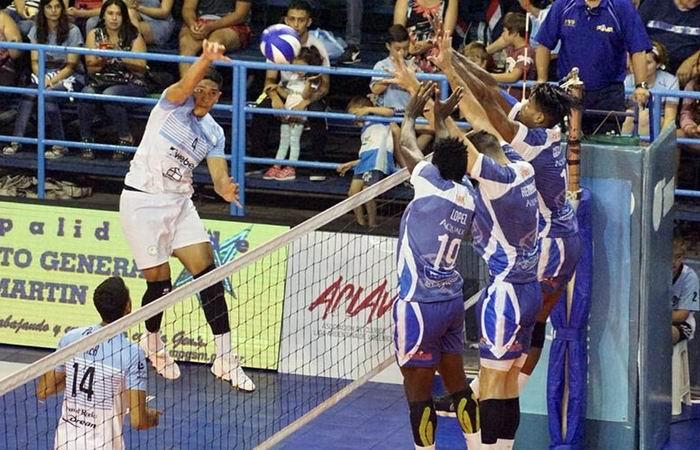Cede Gigantes del Sur en voleibol argentino