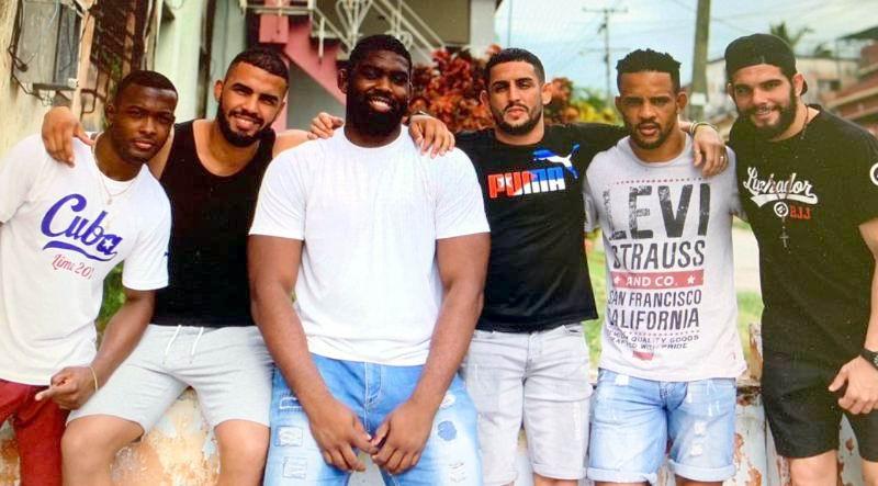 Luchadores cubanos con protagonismo en torneo de clubes de Alemania