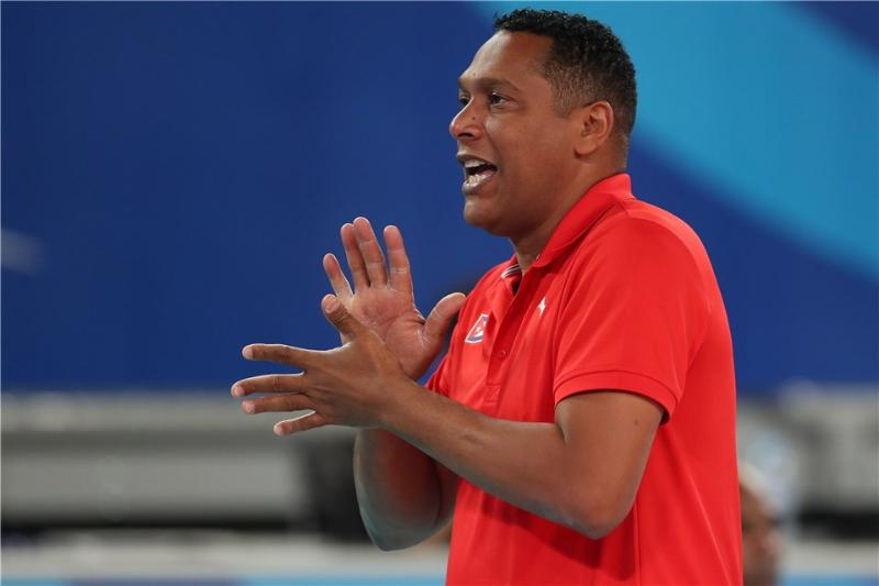 Nicolás Vives, director técnico de la selección nacional varonil