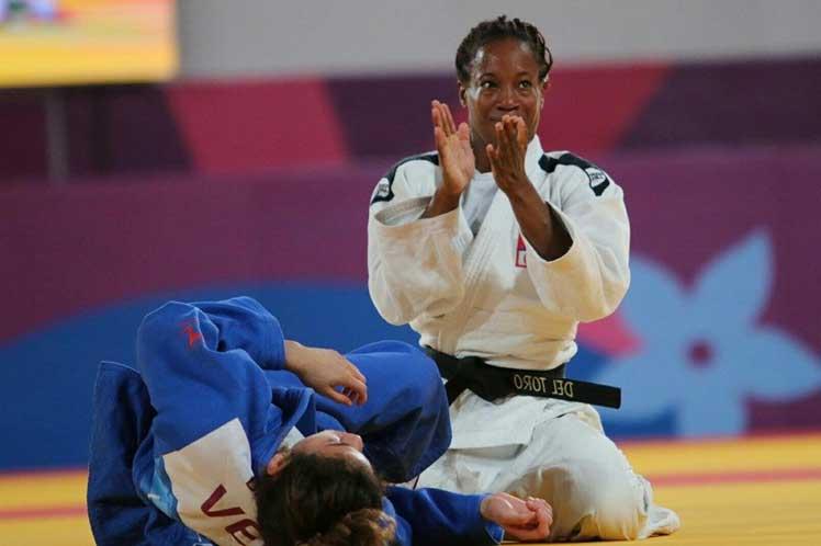 Obtiene medalla de plata Maylín del Toro en Grand Slam de judo de Abu Dhabi