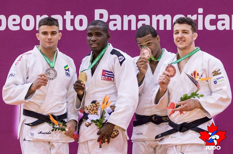 Cuba wins silver medal at event in Pan-American Judo Championships