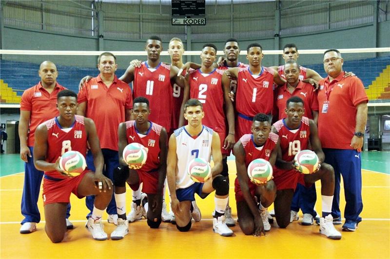 Cuba al mundial sub-19 de voleibol