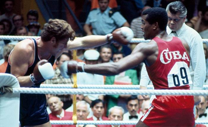 Stevenson y la gloria del campeón