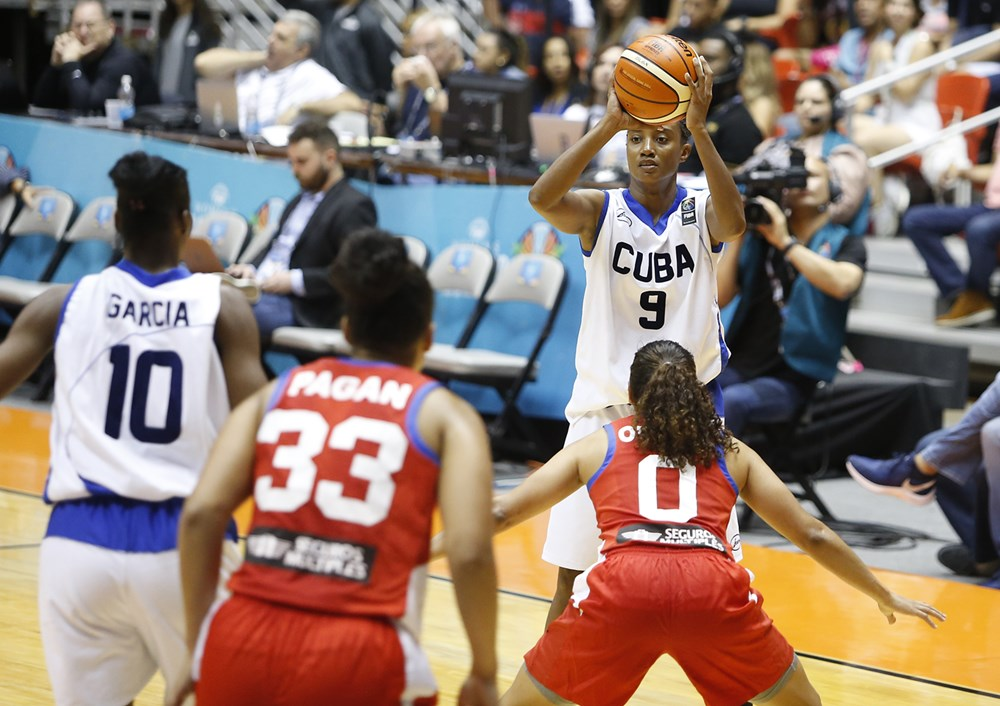 Cubana Yamara Amargo entre lo mejor de la Copa América (F)