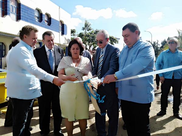 Inaugura Cienfuegos Destilería de Alcohol de Empresa Mixta Cubano Española